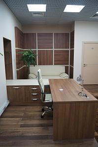 Набор офисной мебели белый лдсп egger + акрил agt турция.